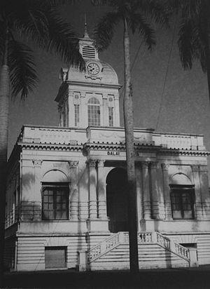 Medan City Hall - Image: COLLECTIE TROPENMUSEUM Het gemeentehuis oftewel de Balai Kota T Mnr 60026559