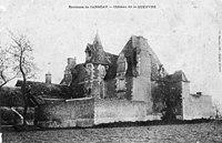 CP Château de La Queuvre, Férolles, Loiret, Centre, France.jpg