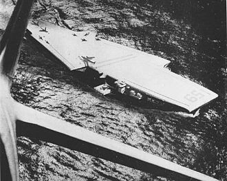 Forrestal-class aircraft carrier - A 1952 design study