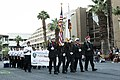 Cadets from the California Cadet Corps' 235th Battalion, 1st Brigade, at Palm Desert High School (38363095882).jpg