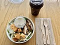 Caesar Salad at Muse Cafe, Queensland Museum, June 2020.jpg