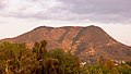 Cahuenga and burbank peaks viewed from northwest at dusk.jpg