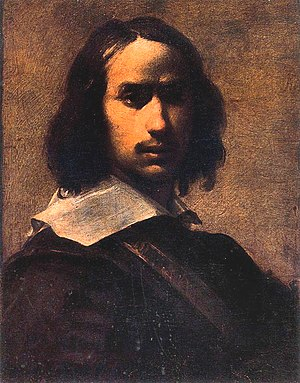 Francesco Cairo - Self portrait.