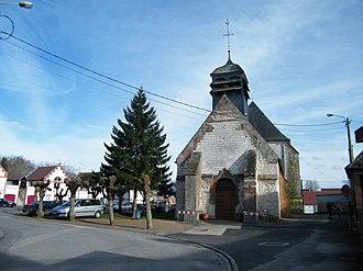 Cambron - The church in Cambron