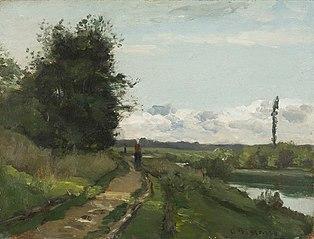 Les bords de la Seine à Bougival