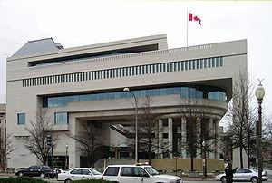Arthur Erickson - Canadian Chancery, Washington, D.C. (1989)