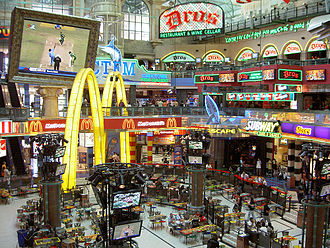 Canal Walk - Image: Canal Walk Food Court