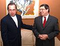 Canciller Patiño recibe la visita de su homólogo cubano, Bruno Rodríguez (5404234667).jpg