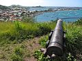 Cannon Aimed at Marigot Bay (6546065201).jpg