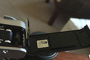 """Canon FT QL - The Canon """"quick loader"""" in a Canon FTb"""
