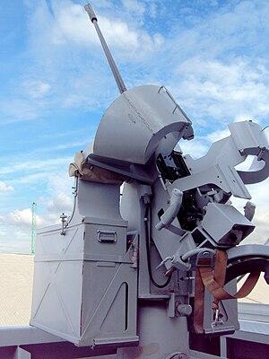 20 mm modèle F2 gun - F2 gun aboard ''Forbin''.