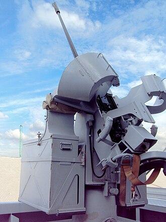 20 mm modèle F2 gun - F2 gun aboard Forbin.