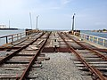 Cape Charles - Railway lines lead to rail ferry to Norfolk - panoramio.jpg