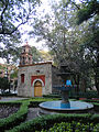 Capilla de San Lorenzo Mártir y fuente, Ciudad de México.JPG
