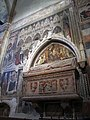 Cappella cavalli, affreschi di altichiero e monum. a federico cavalli con affr. di stefano da zevio, 01.JPG
