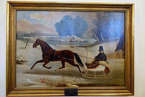Thomas Kirby Van Zandt - Captain Hamilton Leroy Shields of Bennington, with his trotter Mary Colgate