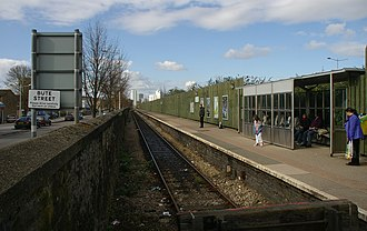 Cardiff Bay railway station - Cardiff Bay railway station