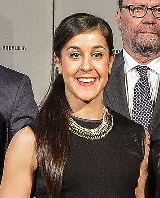Carolina Marín - Marín in 2014