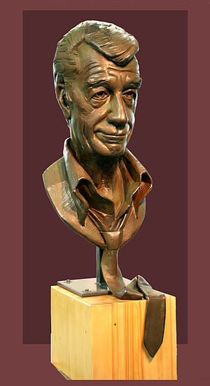 German television comedy - Bust of Rudi Carrell