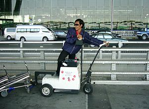 Baggage cart - Baggage cart mover