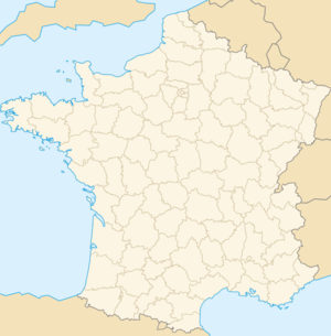 Carte de localisation de Bèrtangue