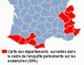 Carte départements surveillés enquête permanentes sur les avalanches - 2.png