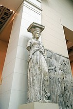 Caryatid 01 - cast in Pushkin museum 02 by shakko.jpg