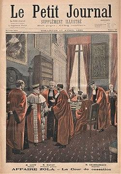 Los magistrados de la Cámara Criminal enLe Petit Journal