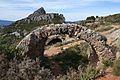 Castell o fort de Bèrnia, arc.JPG