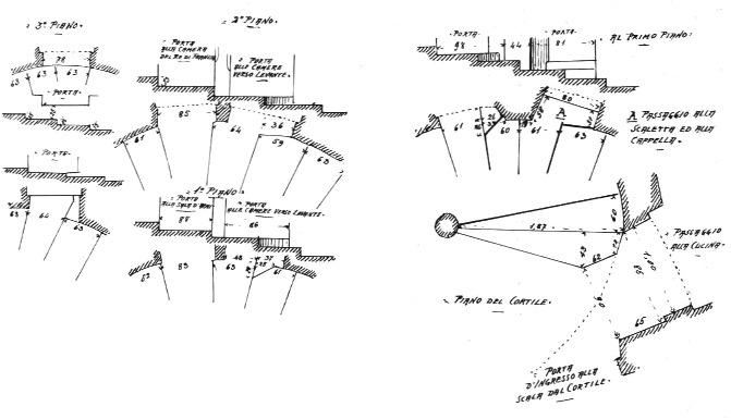 File:Castello di issogne, modi diversi con cui si passa dalla scala grande alle varie camere alle quali essa dà accesso fig 92 dis nigra.tiff