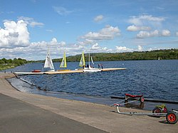 Castle Semple Loch - Vassport på Castle Semple Loch