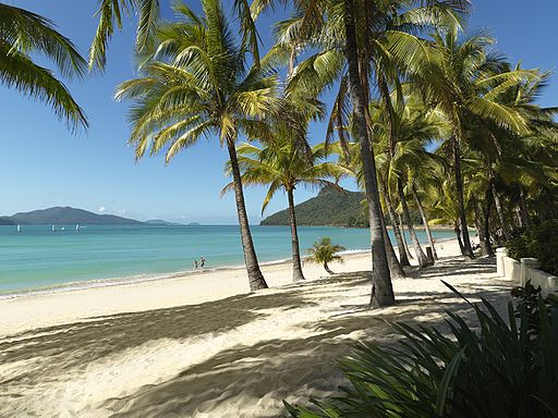Catseye Beach on Hamilton Island