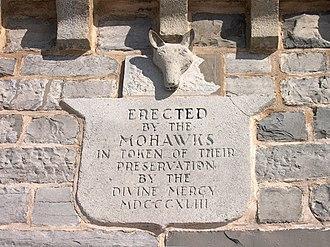 Christ Church Royal Chapel - Image: Cctablet