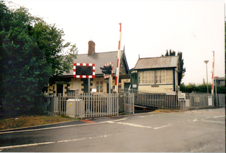 Caersws railway station - Image: Cearsws station 1`