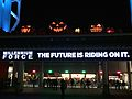 Cedar Point entrance marquee during HalloWeekends (2461).JPG
