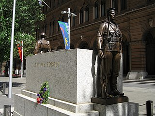 Sydney Cenotaph war memorial in Martin Place, Sydney