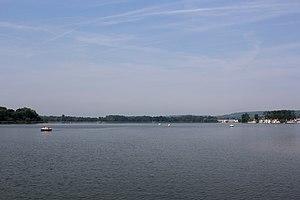 Ailette (river) - Center Parcs, Lac d'Ailette area, Chamouile, Aisne, France