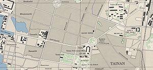Central Tainan City Plan