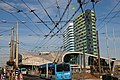 Central station Arnhem with lots of trolleybus cables in the air^ Almost ready for use at September 2015 - panoramio.jpg