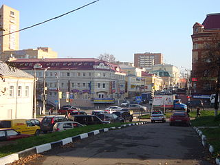 Podolsk City in Moscow Oblast, Russia