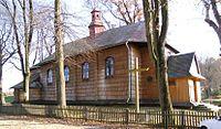 Cerkiew greckokatolicka św. Jerzego w Lalinie..JPG