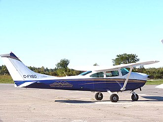 Continental O-470 - Cessna 182K equipped with a Continental O-470R powerplant