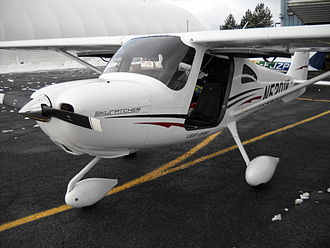 Cessna 162 Skycatcher - Cessna 162 Skycatcher number ten.