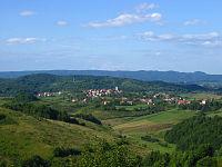 Cetingrad, view from Cetin castle.JPG