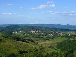 Cetingrad, view from Cetin castle.JPG