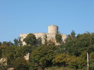 Saint-Quentin-Fallavier - The château de Fallavier