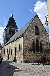 L'église Saint-Martial.