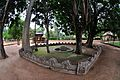 Chaitya and Water Pot for Birds - Santiniketan 2014-06-29 5576.JPG