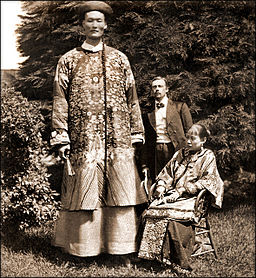 Chang The Chinese Giant c1870