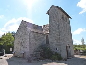 Chapelle nord et clocher-mur.JPG